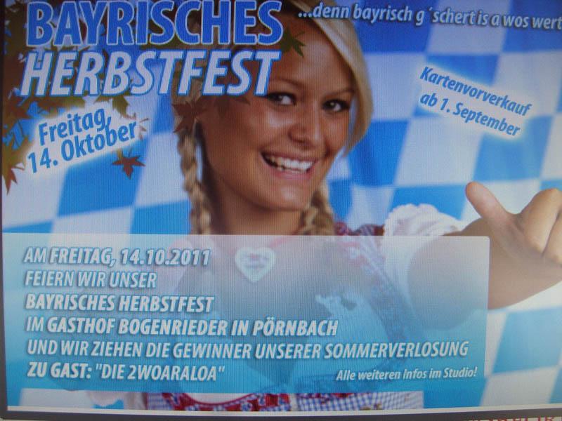 Bayrisches Herbstfest
