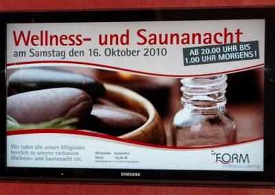Sauna- und Wellnessnacht