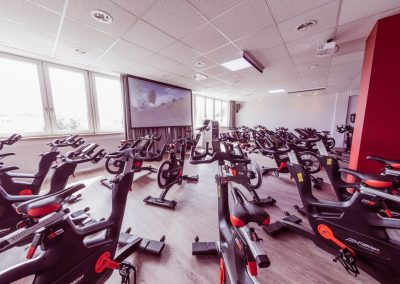 Umbau Indoor Cycling
