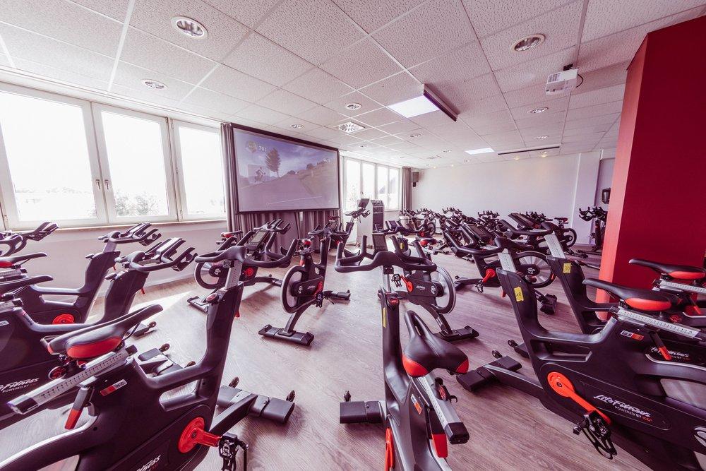 Umbau Indoor Cycling