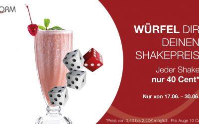 Würfel deinen Shake Preis