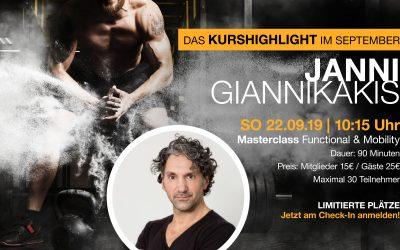 Kurshighlight im September