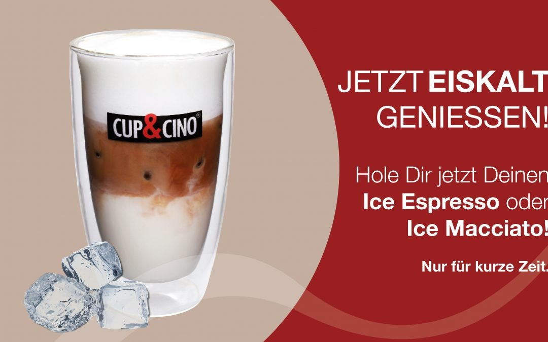 Thekenaktion Eiskaffee