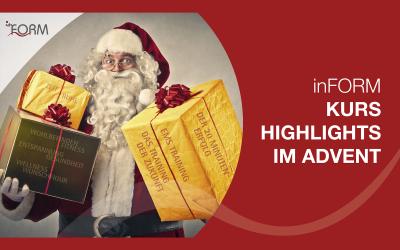 Alle Kurshighlights im Advent auf einem Blick