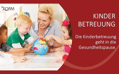 Info zur Kinderbetreuung